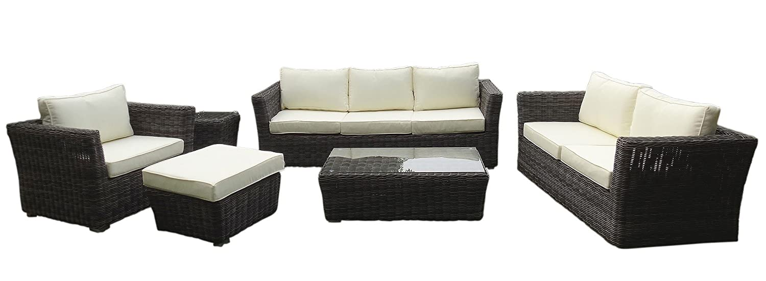 baidani gartenm bel garnitur empire grau g nstig. Black Bedroom Furniture Sets. Home Design Ideas