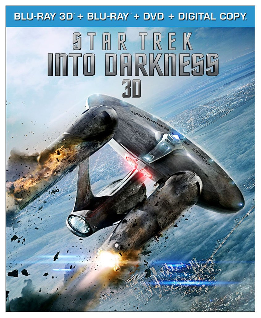Star Trek Into Darkness (Blu-ray 3D + Blu-ray + DVD + Digital Copy) $24.99
