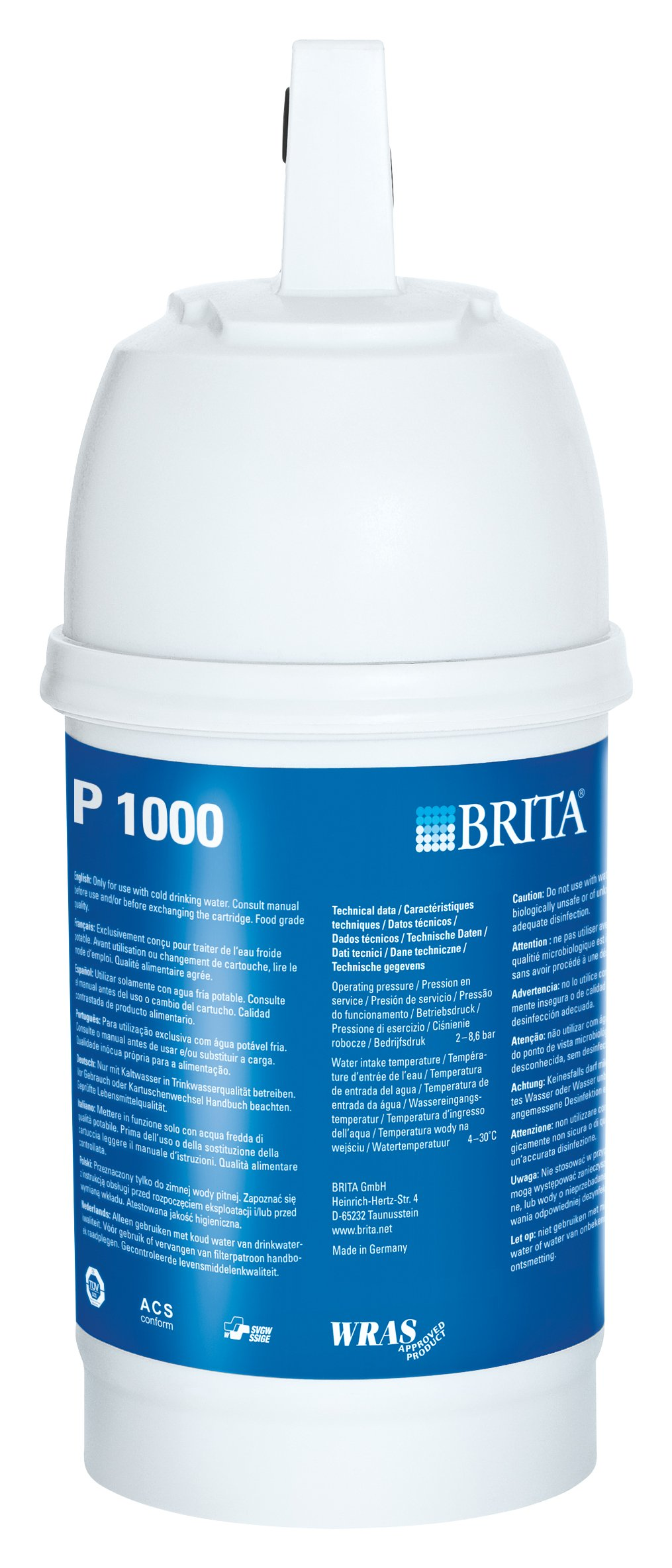 brita p1000 tap water filter cartridge. Black Bedroom Furniture Sets. Home Design Ideas