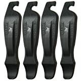 50 Strong Bike Tire Lever – Set of 4 Easy Grip Bicycle Levers - Best Tire Changing Tool - Made in USA and Designed to Snap Together for Storage