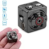 SOLOLIFE 1080P HD Mini Hidden Camera Portable Motion Detection Body Camera Video Recorder with Night Vision,Surveillance Spy Nanny Cam for Indoor and Outdoor