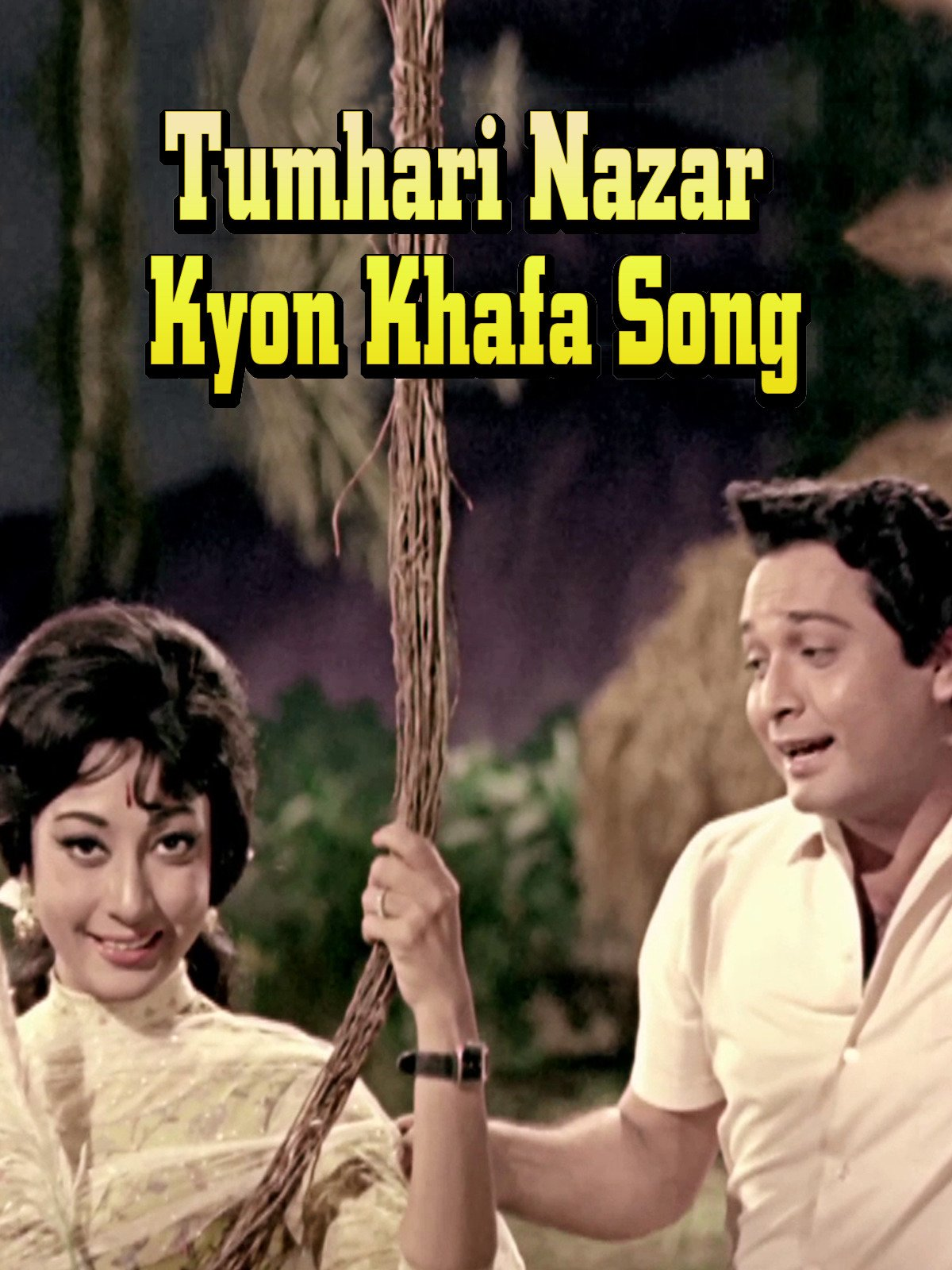 Tumhari Nazar Kyon Khafa Song on Amazon Prime Instant Video UK