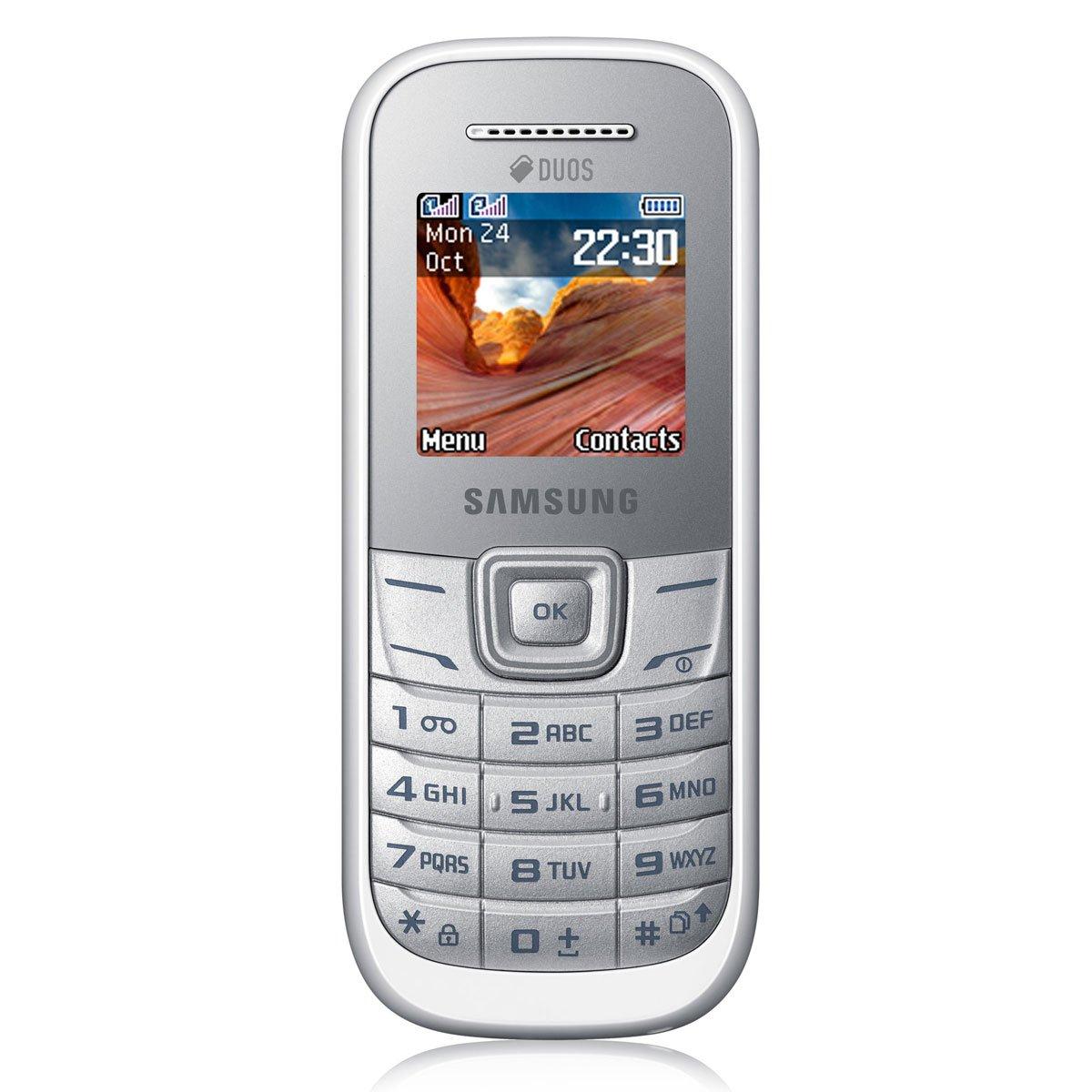 T�l�phone GSM SAMSUNG E1202 BLANC