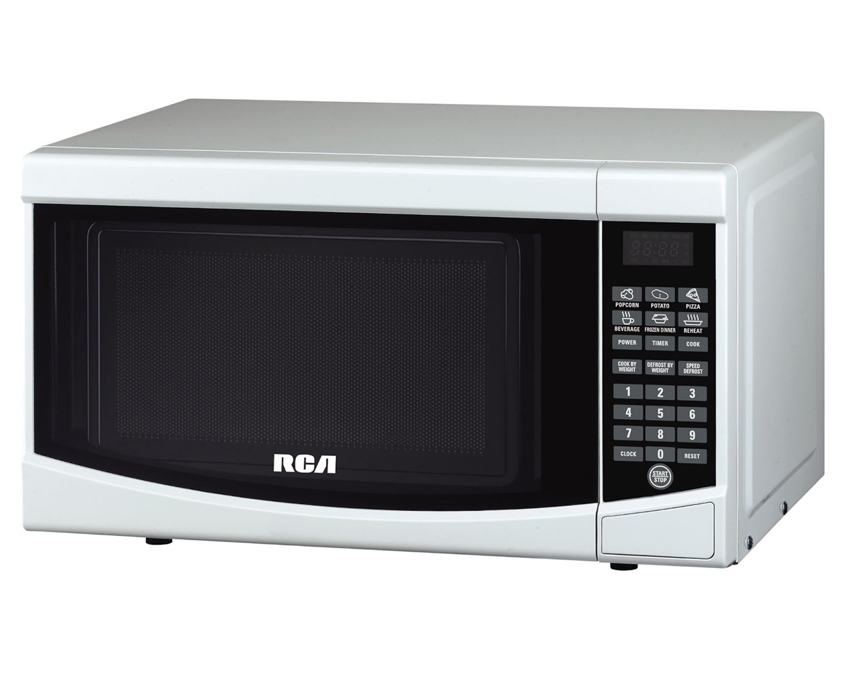 New RCA RMW733-WHITE Microwave, 0.7 cu. ft., White