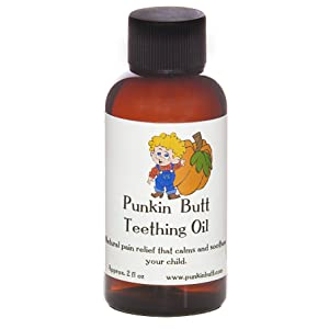 Punkin Butt Teething Oil 2 oz