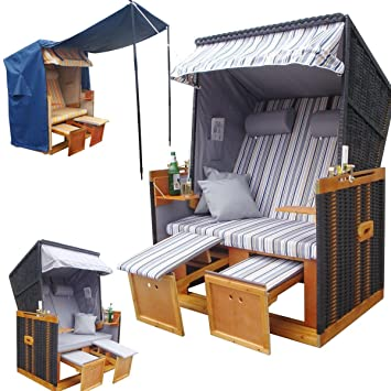 strandkorb nordsee der klassiker unter den strandk rben exklusiv f r amazon dee484. Black Bedroom Furniture Sets. Home Design Ideas