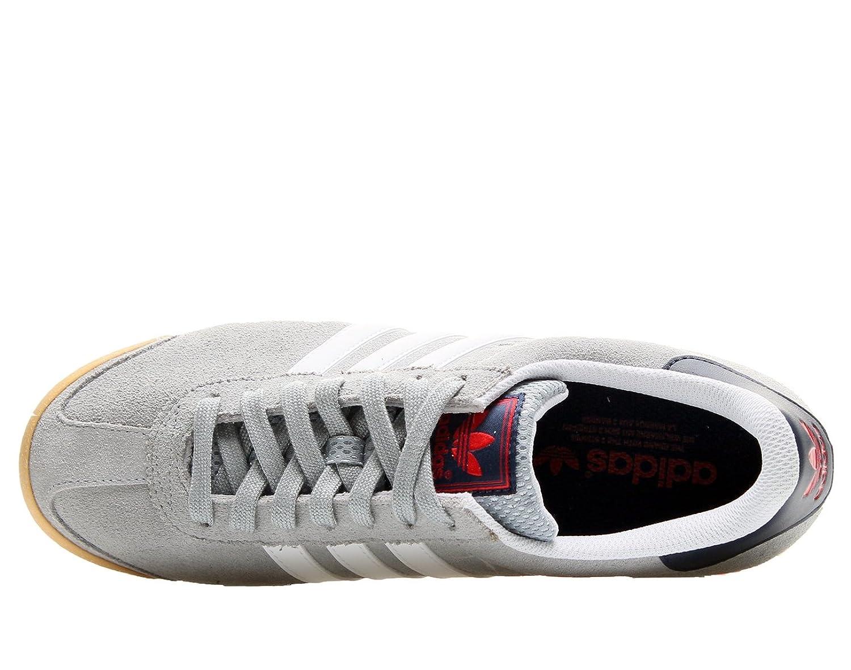 adidas samoa uomini scarpe bianco argento / run d74606