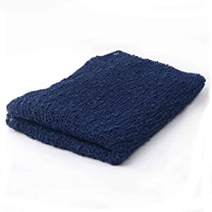 Sunmig Newborn Baby Stretch Wrap Photo Props Wrap-Baby Photography Props (Navy) (Color: Navy, Tamaño: 0-3 Months)