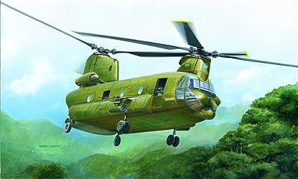 Italeri - I2647 - Maquette - Aviation - ACH-47A Chinook - Echelle 1:48