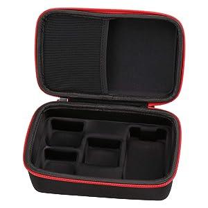 Aproca Hard Storage Case Compatible Anki Cozmo Educational Toy Robot Black