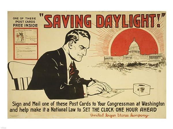 Daylight Saving Poster
