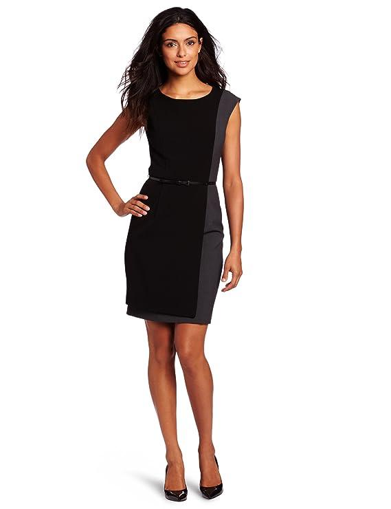Calvin Klein Women's Color Block Dress