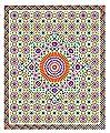 Moroccan 4 Colors Mosaic Design Vinyl Wall Decal