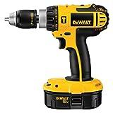 DEWALT DC725KA 18-Volt Cordless Compact Hammer Drill/Driver (Color: Yellow)