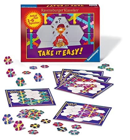 Ravensburger - 26362 - Jeu de Société - Take it Easy