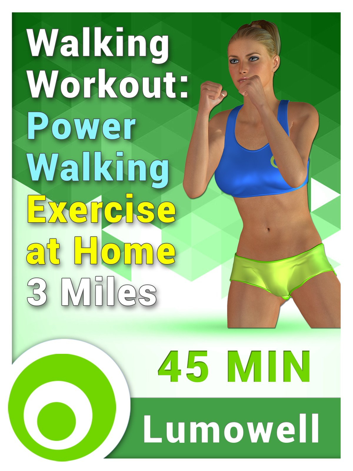 Walking Workout: Power walking exercise at home