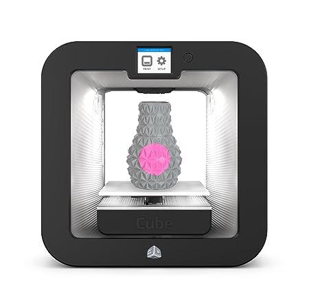 3D SYSTEMS 391100 Cube 3 Imprimante 3D Gris Anthracite