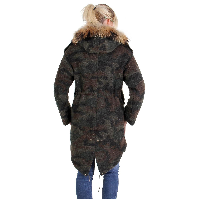 MUSEUM Damen Winter Parka Camouflage MD19483 günstig online kaufen