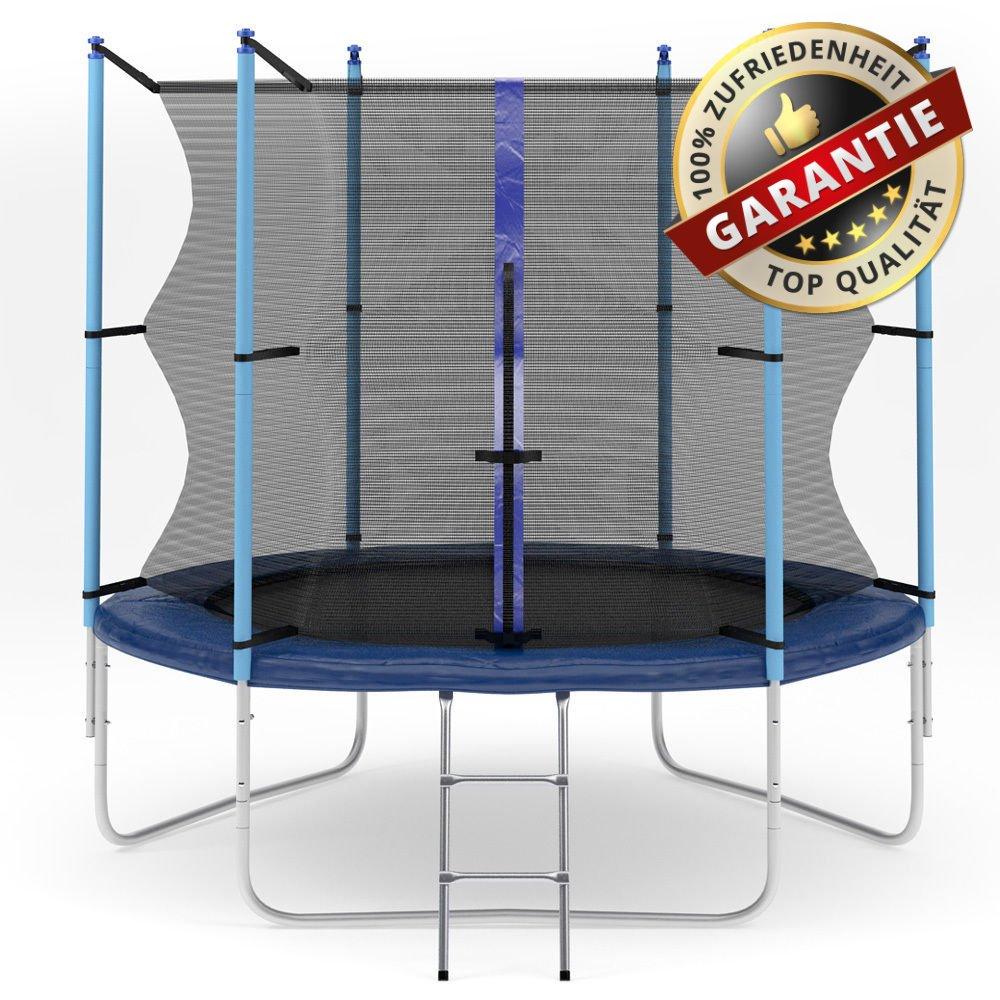 Hop-Sport Gartentrampolin 244 cm Komplettset mit Sicherheitsnetz und Leiter Innennetz online bestellen