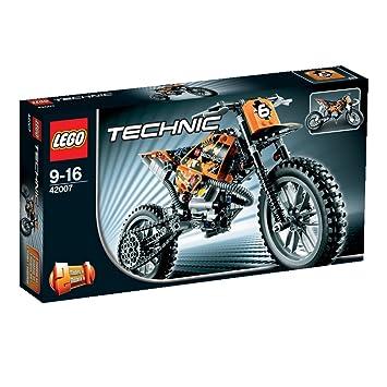 Lego Technic - 42007 - Jeu de Construction - La Moto Cross