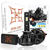 HIKARI Ultra LED Headlight Bulbs Conversion Kit -H1, Prime LED 12000lm 6K Cool White,2 Yr Warranty (Tamaño: H1)
