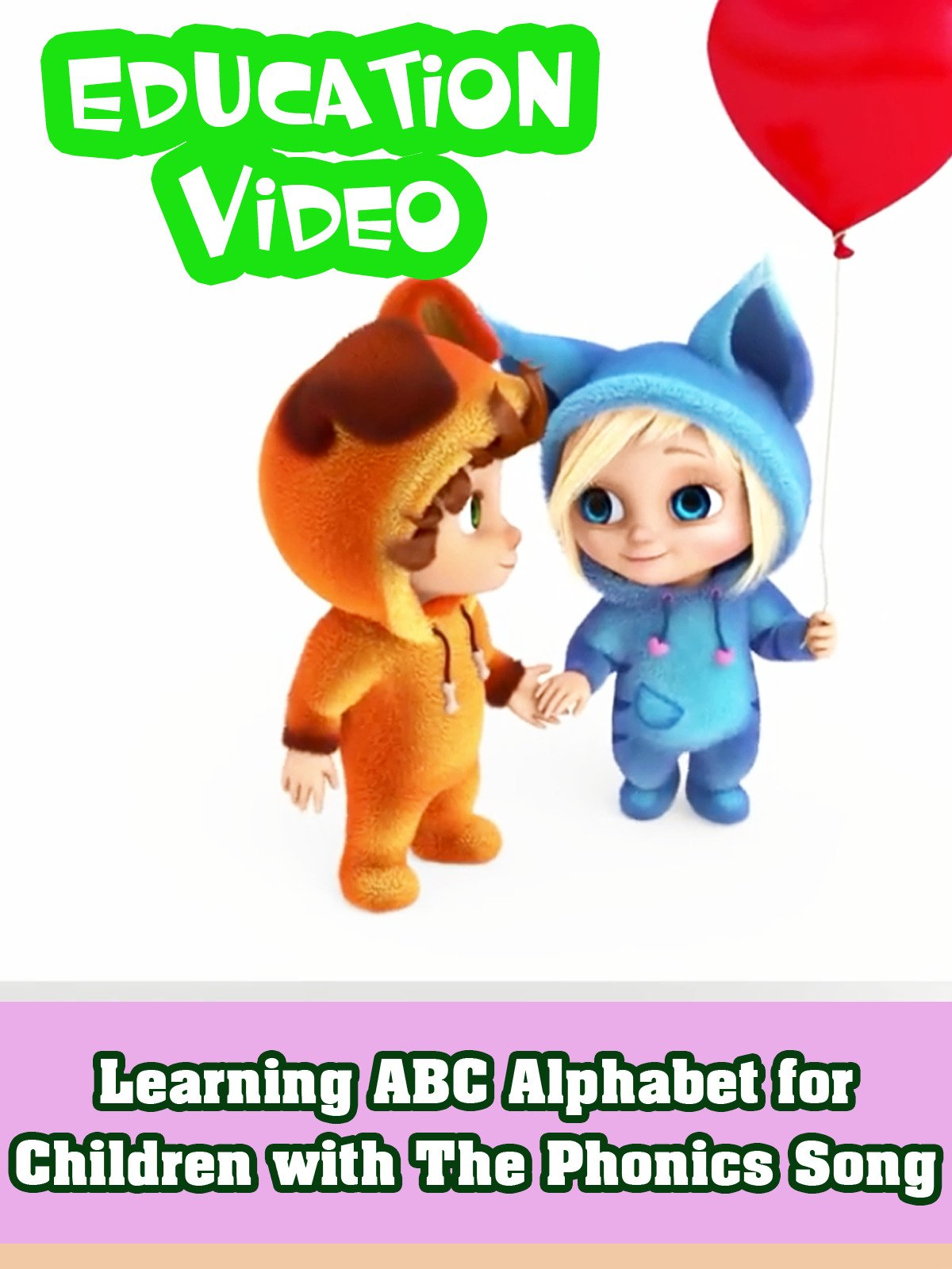 Learning ABC Alphabet for Children with The Phonics Song