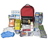 Ready America 70385 Deluxe Emergency Kit 4 Person Backpack (Tamaño: 1-Pack)