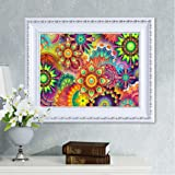 Lowprofile 5D Embroidery Paintings Rhinestone Pasted DIY Diamond Painting Cross Stitch (Color: Multicolor, Tamaño: Free Size)