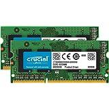 Crucial 8GB Kit (4GBx2) DDR3/DDR3L 1333 MT/s (PC3-10600) SODIMM 204-Pin Memory For Mac - CT2K4G3S1339M