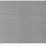 "White Painted Aluminum Perforated Sheet .040"" x 12"" x 12"" - 1/16"" holes"