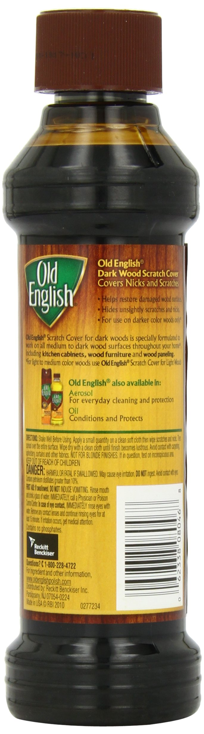 Galleon Old English Scratch Cover For Dark Wood 8 Ounce