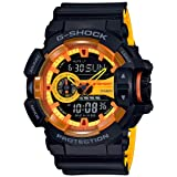 Casio G-shock Analog Digital Black and Yellow Mens Watch With Date and 200 Meter Water Resistant GA400BY-1A (Color: Black)