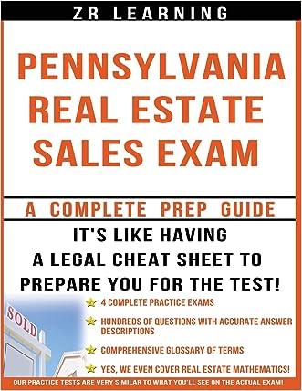 Pennsylvania Real Estate Sales Exam