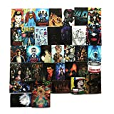 Stranger Things Sticker Sheet 36 Piece Multicolor Stranger Things Vinyl Stickers (Stranger Things) (Color: Multi Colored)