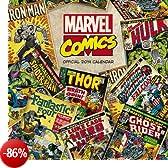 Official Marvel Retro Classic 2014 Calendar