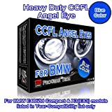 Heavy Duty CCFL Angel Eyes Halo Rings DRL 106 mm 131 mm E46 ti/td (01-05) Compact E83 X 3 (03-10) high low beam (30000K Blue) (Color: 30000K Blue)