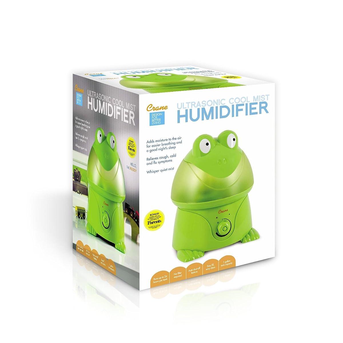 Crane Adorable Ultrasonic Cool Mist Humidifier - Frog