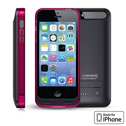 Alpatronix BX120 MFi Certified Ultra Slim Protective Extended iPhone