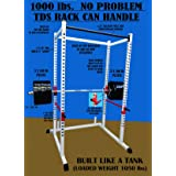 TDS Power Rack / Squat Cage (Color: White)