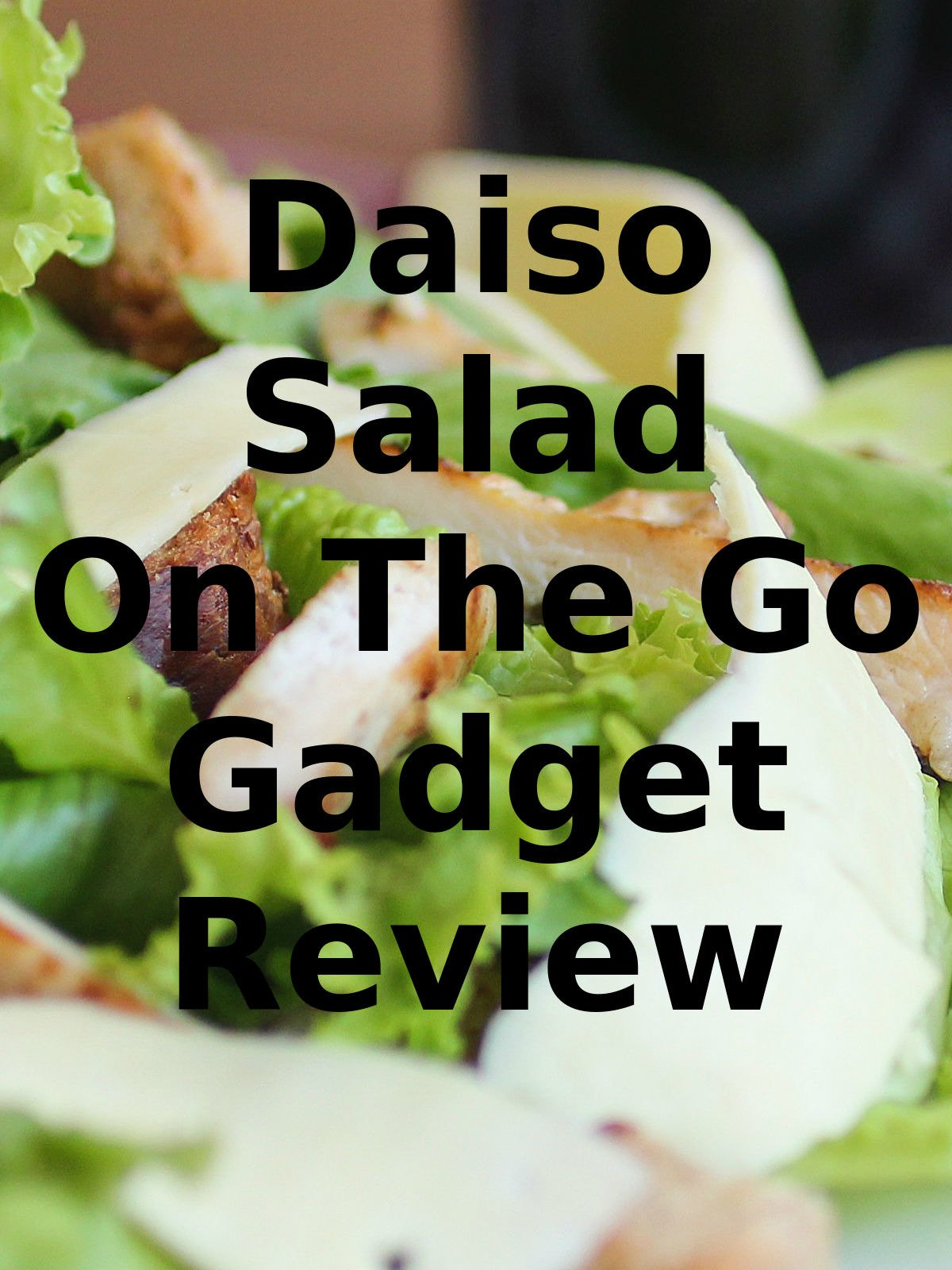 Review: Daiso Salad On The Go Gadget Review
