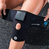 Compex TENS/HEAT Knee Wrap, Black - Heated Knee Wrap with TENS Unit for Knee Pain, Large/X-Large (Color: Black, Tamaño: Large/X-Large)