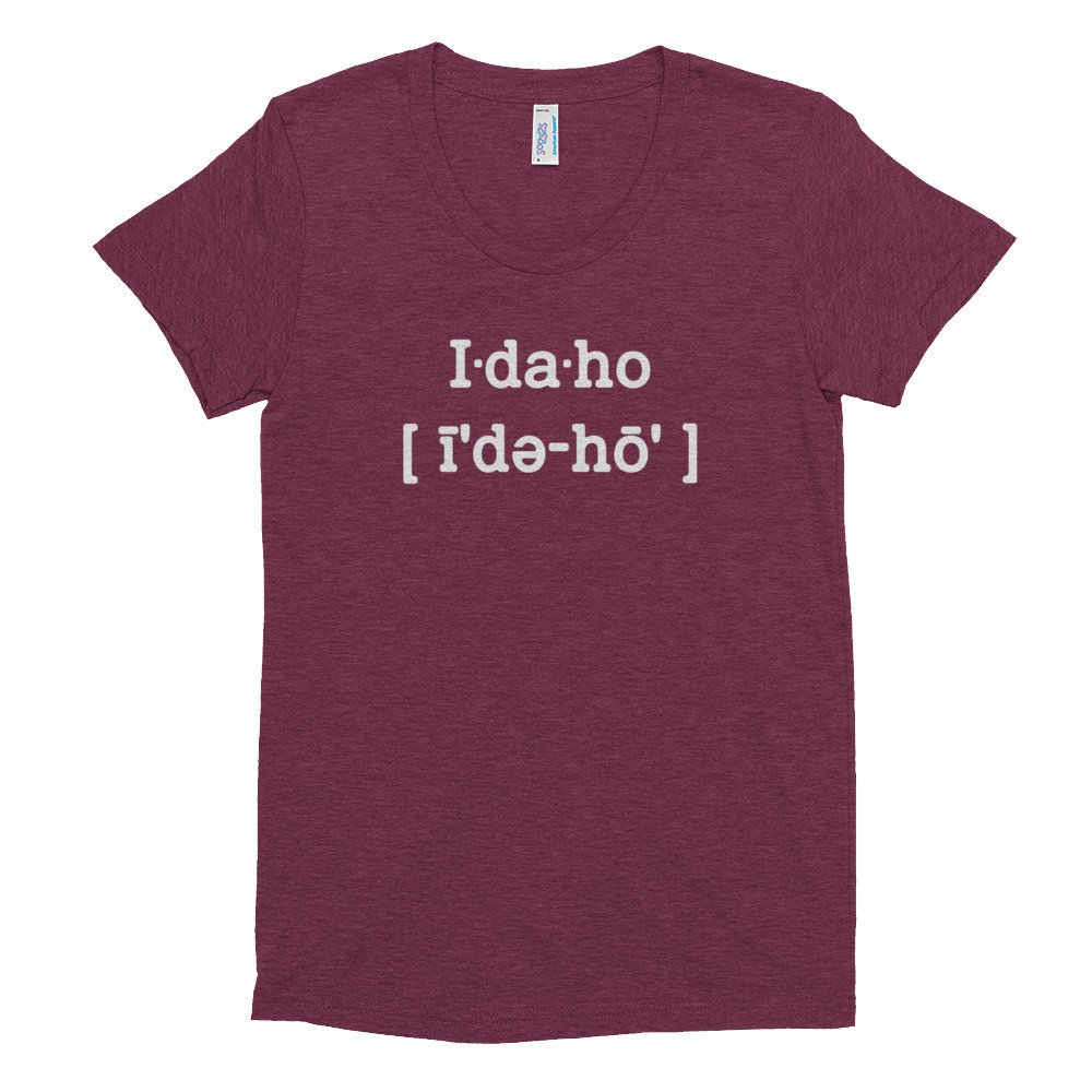 Idaho Womens T Shirt