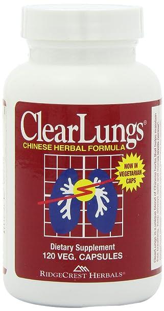 Отзывы Ridgecrest Herbal Clearlungs Red/Herbal