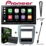 Pioneer MVH-AV251BT Digital Media Receiver with Apple CarPlay and Android Auto + Dash kit for Ford Mustangs KIT-MUS1 + ADS-MRR Interace Bundle with Sound of Tri-State Lanyard
