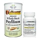 Equilibrium Probiotic and Whole Husk Psyllium Value Bundle of 1 Each
