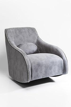 Kare 79403 Sessel, Holz, grau, 74 x 76 x 83 cm