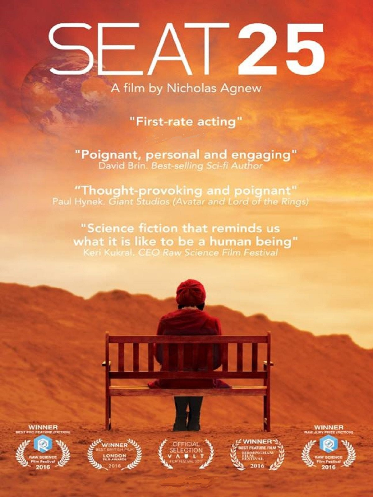 Seat 25 on Amazon Prime Instant Video UK