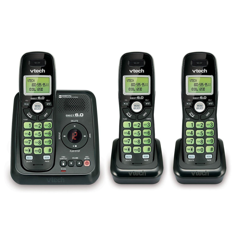 NEW Vtech CS6120 31 Cordless 3 Handset Answering System