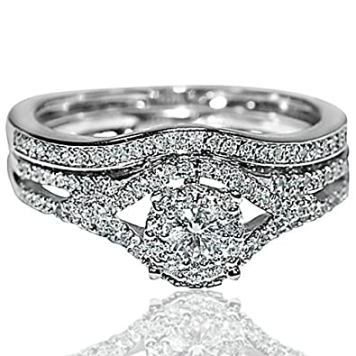 Rings-MidwestJewellery.Com Women's Wedding Ring White Gold