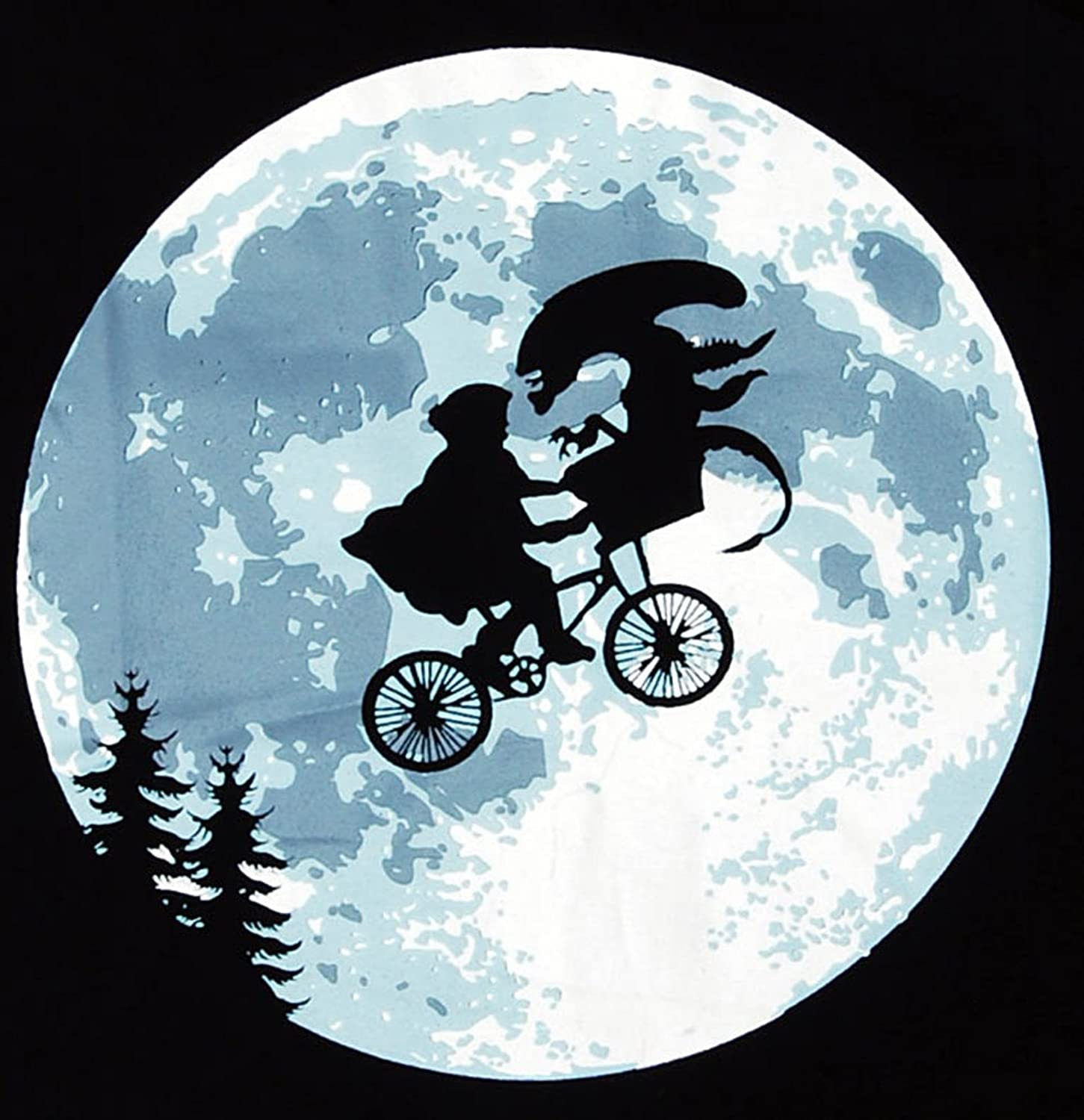 Alien E T  Flying Bicycle  E.t. Moon